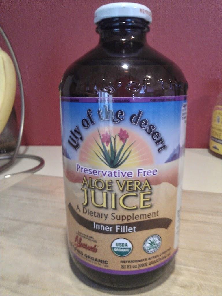 Aloe Vera Juice for Endometriosis